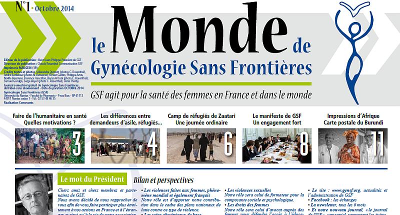 Le Monde de Gynécologie Sans Frontières