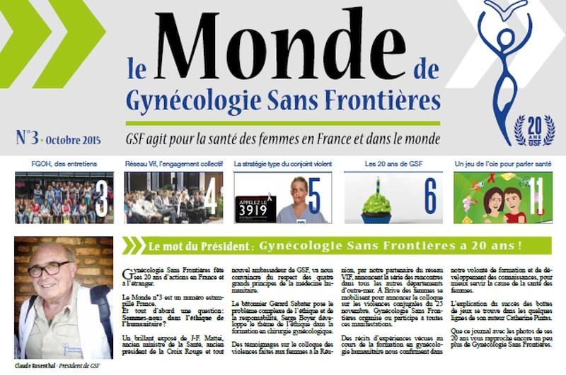 Le Monde de GSF N°3 est en ligne