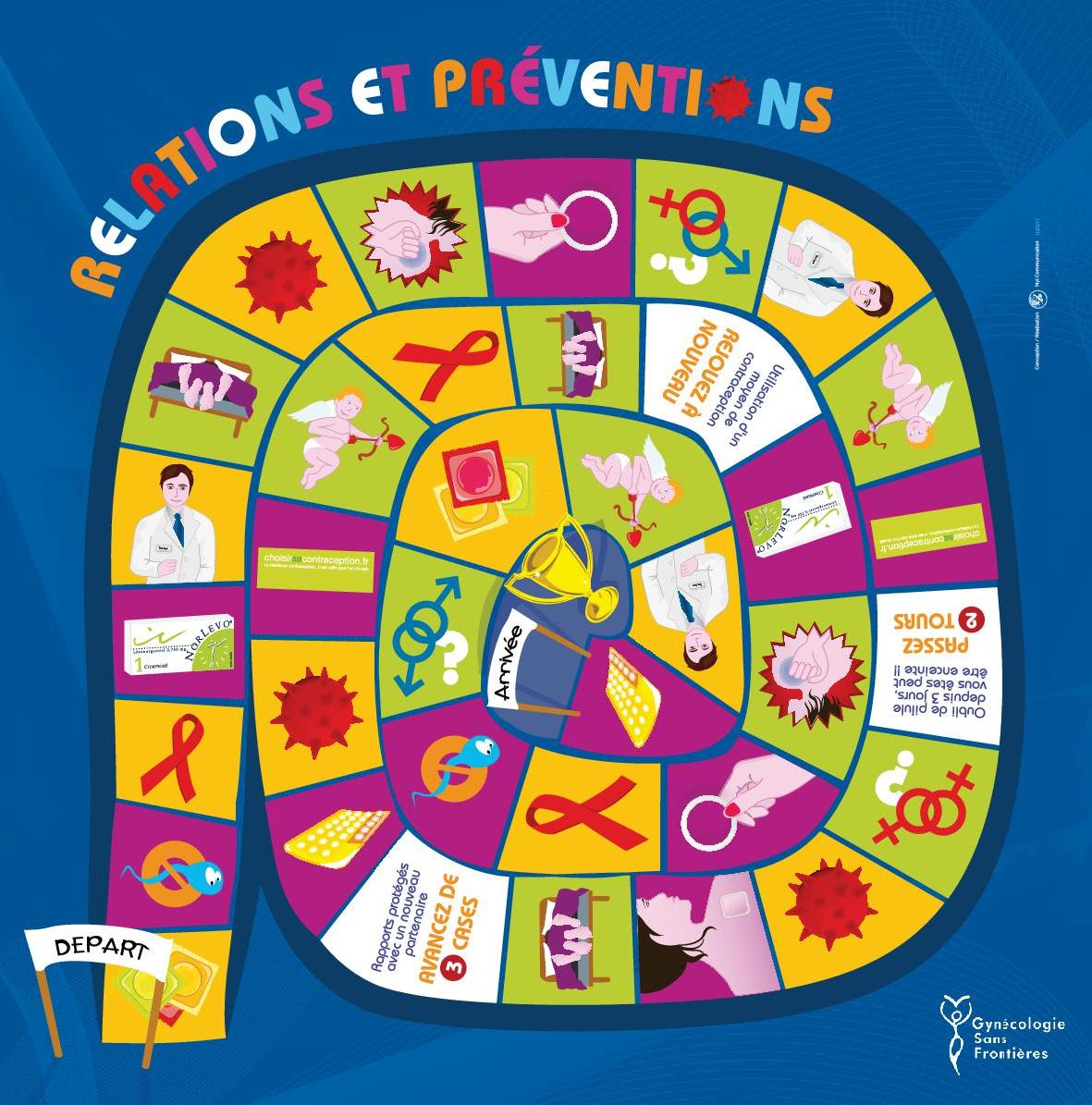 Un jeu interactif pour parler de la santé sexuelle
