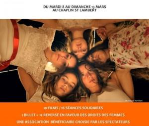 8 Mars – Festival du Cinéma en avant toute – pour soutenir Gynécologie Sans Frontières