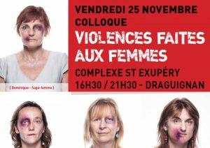 Colloque VFF de Draguignan (PACA) le 25 novembre 2016