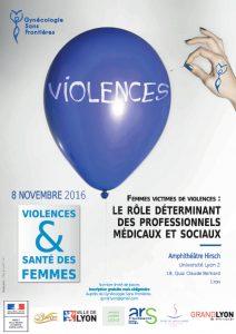 Colloque VFF de LYON (Auvergne-Rhône-Alpes) – 8 novembre 2016