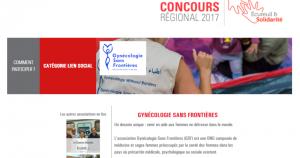 Cliquez pour voter pour GSF au Concours Régional Ecureuil & Solidartié