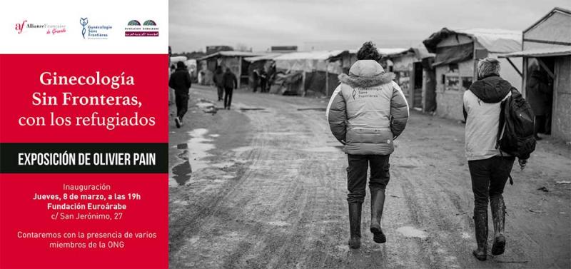 Ginecologia Sin Fronteras con los refugiados – Alliance Française de Grenade