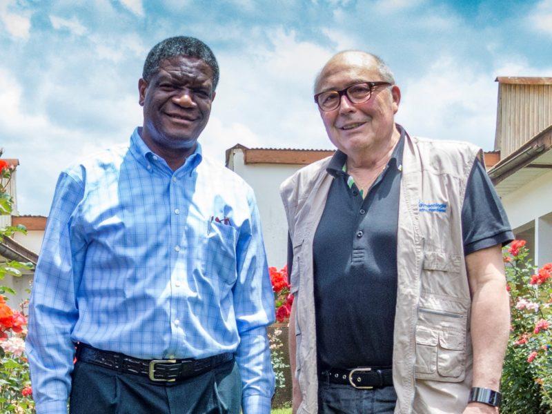 Denis MUKWEGE & Gynécologie Sans Frontières réunis à Pau
