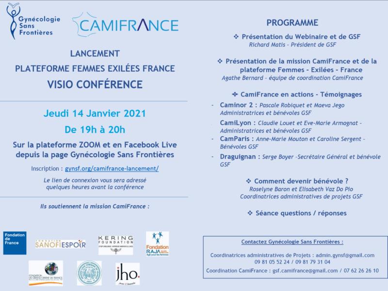 CAMIFRANCE : Une plateforme internet, vous & GSF – Nous avons rendez-vous avec vous !
