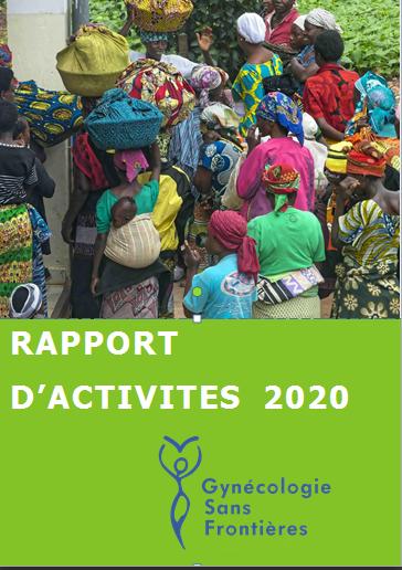 Le rapport d'activités 2020 de Gynécologie Sans Frontières est disponible !