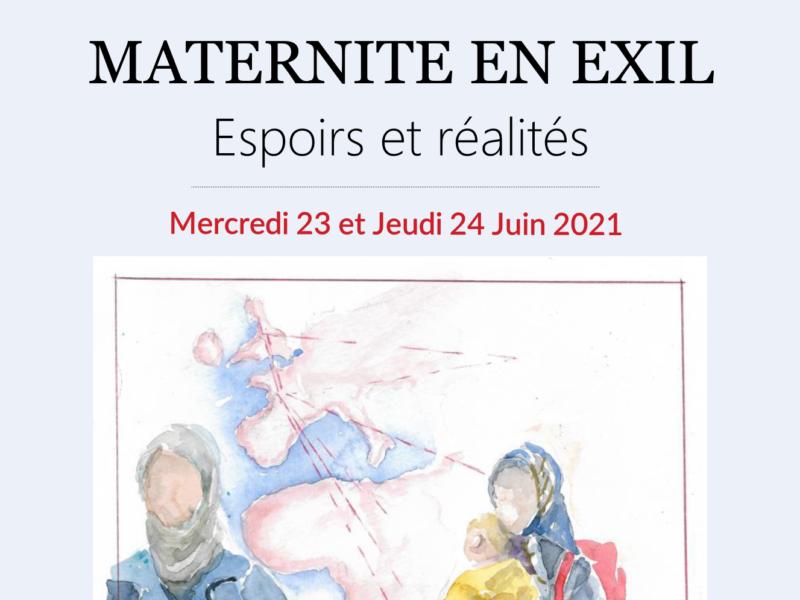 23 & 24 JUIN 2021 – MATERNITE EN EXIL – Espoirs et réalités – 31ème journées d'Études de l'Association Nationale des Sages-Femmes Territoriales (ANSFT)