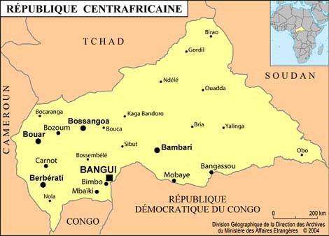 République Centrafricaine – Mission de renforcement des compétences des personnels de santé locaux en SONUB et C – BANGUI – BIMBO – Partenariat GSF-ALIMA