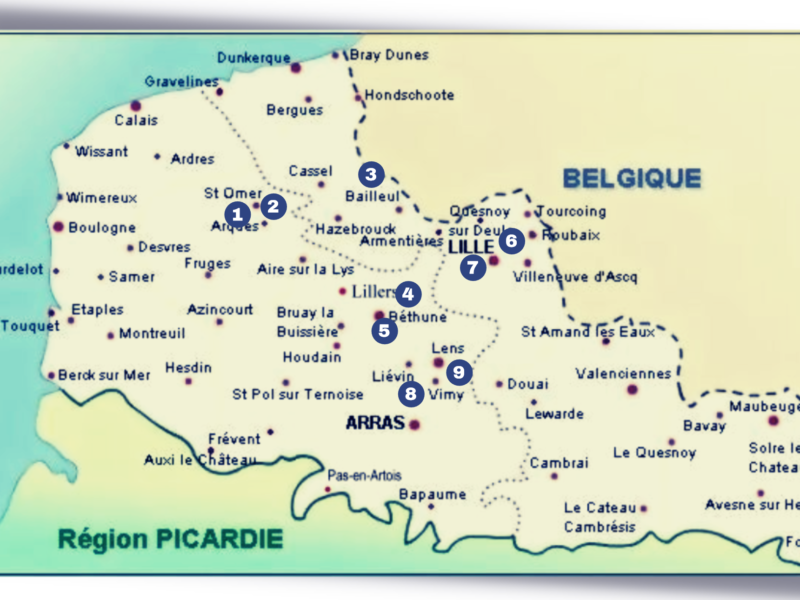 Région NORD & PAS DE CALAIS… Vers un Caminor2 – Mission France – Appel à Candidatures bénévoles