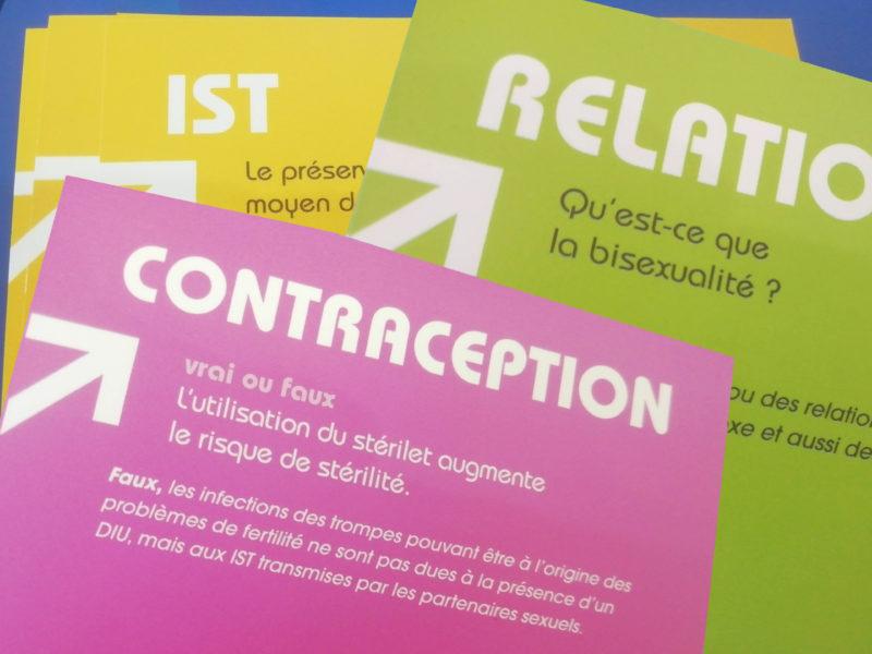 Aborder autrement la contraception, les IST et les relations affectives