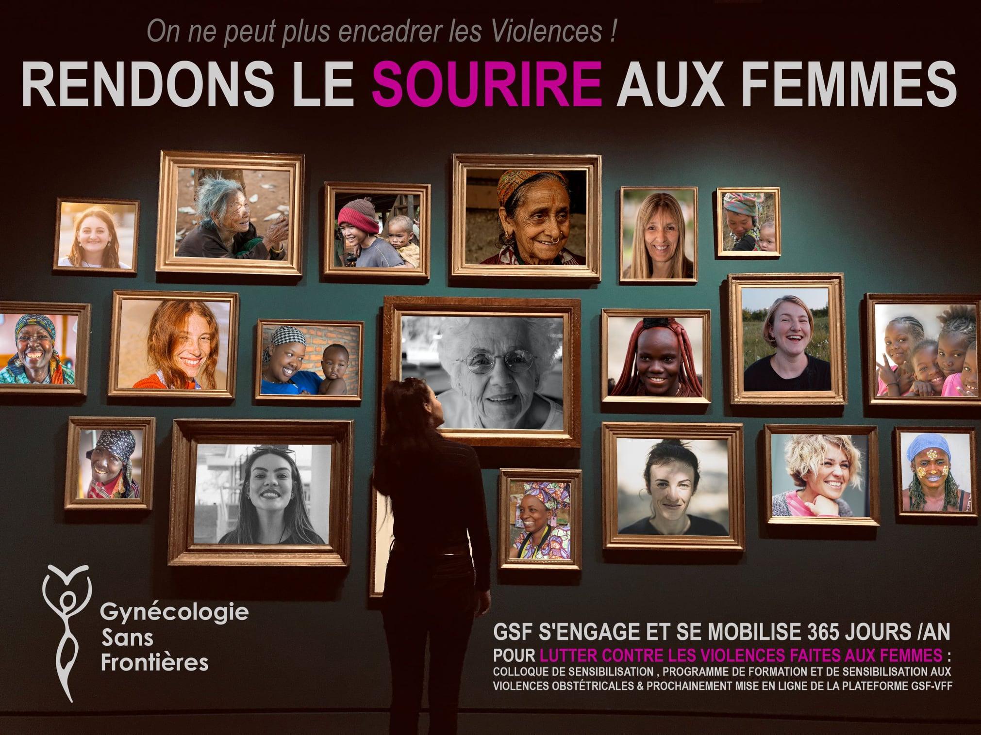 Agenda… La lutte contre les violences faites aux femmes, c'est l'affaire de tous et partout !